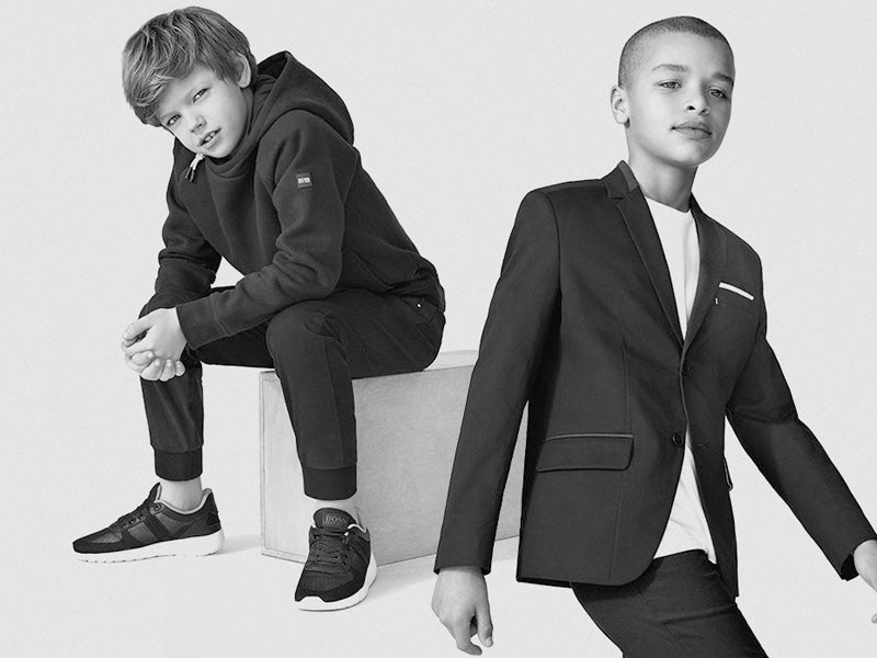 156fdcc6984 Hugo Boss Kids es la marca de lujo alemana