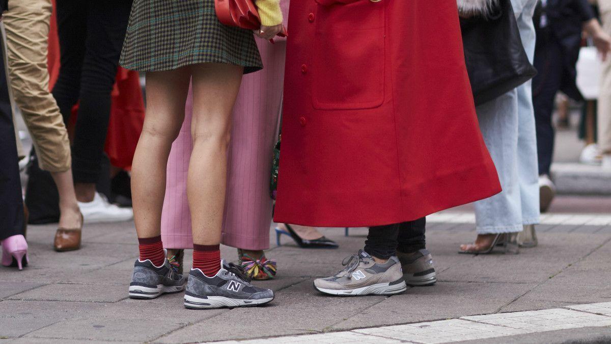 new balance femme street style